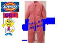 【Dickies】年間ヒッコリーツヅキ服【ディッキーズ】801