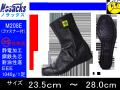 【ノサックス】静電気帯電防止高所用安全靴 【NOSACKS M208E】ファスナー付 みやじま鳶半長靴