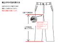 股下寸法の測り方