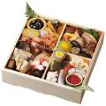 北新地「割烹 味菜」謹製 和風おせち<一段>1〜2人前/祝い箸3膳付き