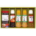 ごまドレ・たまねぎドレ・柚子みつ・明石のり・鯖缶(ギフトセットG-17)