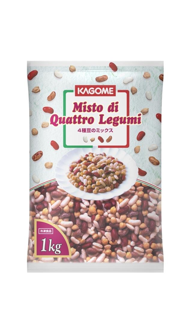 * カゴメ 4種豆のミックス 1kg