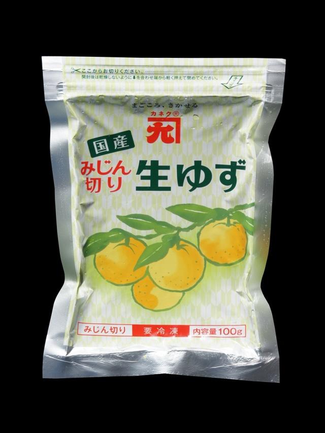 * カネク 冷凍みじん切り生ゆず 100g