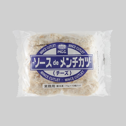 * MCC NTソースdeメンチカツ(チーズ) 75g*10個
