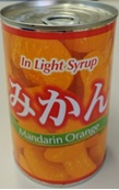 * みかん(Lサイズ)缶詰4号缶