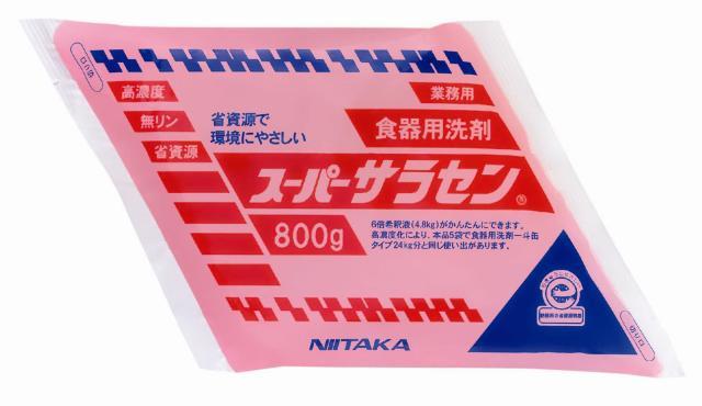 ニイタカ スーパーサラセン(パウチ) 800g×5袋【1ケース】