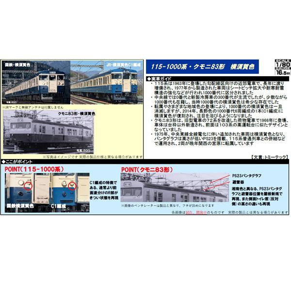 115系/クモニ83