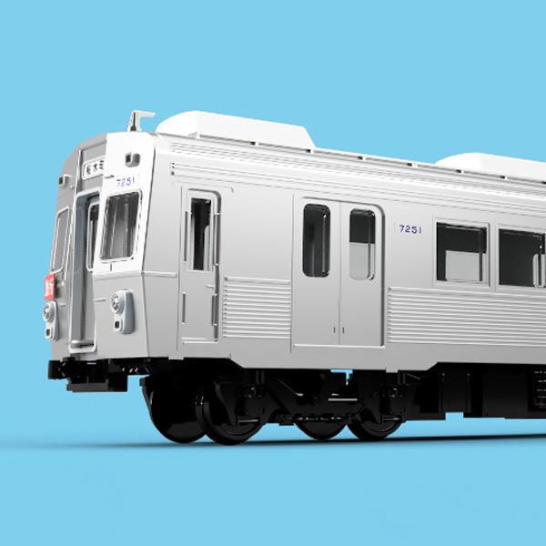 東急7200系冷房車 2両セット
