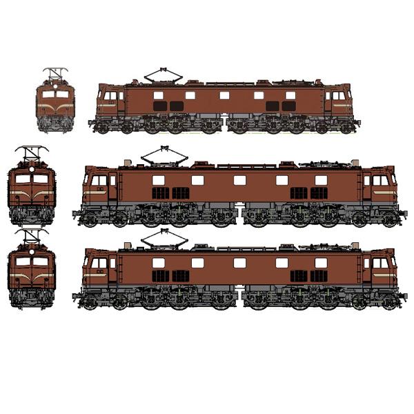 国鉄EF58小窓 ぶどう2号 各種(昭和30年代前半/昭和30年代後半/国鉄末期)