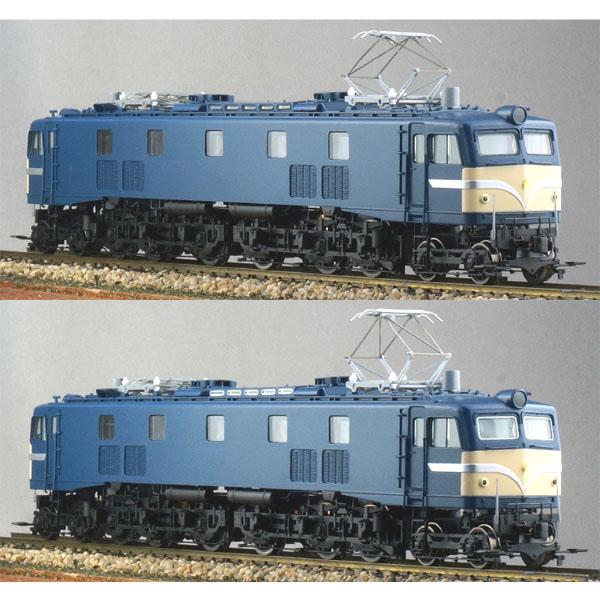 国鉄EF58小窓・黒Hゴム/白Hゴム 前面警戒色(新標準色)