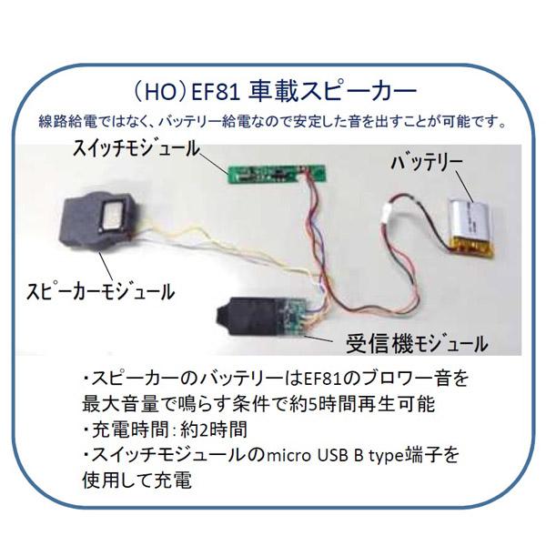 (HO)EF81 車載スピーカー
