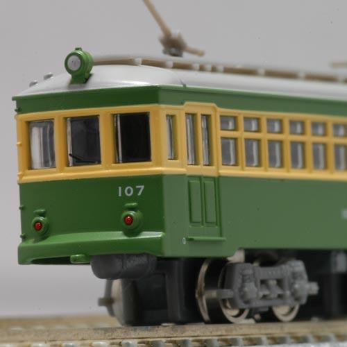 MODEMO NT137 江ノ電100形(107号車・トロリーポール仕様)