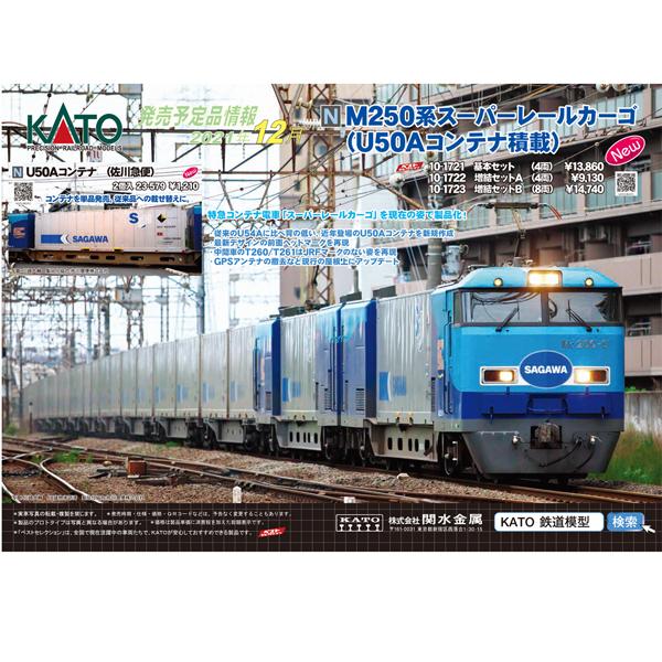 KATO 2021年12月ポスター