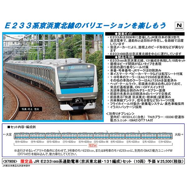 E233系1000番台(京浜東北線・131編成)