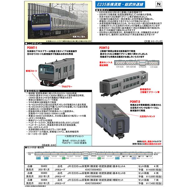 E235系1000番台(横須賀・総武快速線)