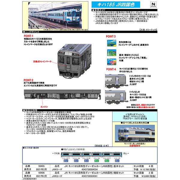 キハ185系(JR四国色)