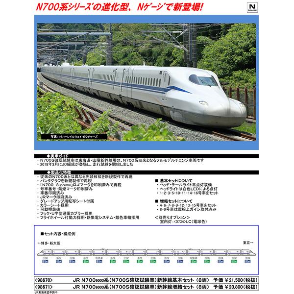 N700系9000番台(N700S確認試験車)