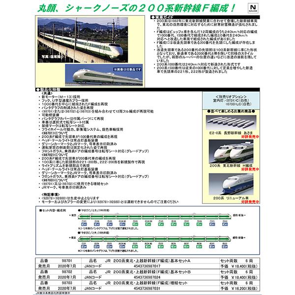200系東北・上越新幹線(F編成)