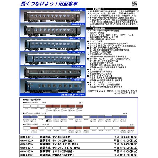 (HO)10系客車