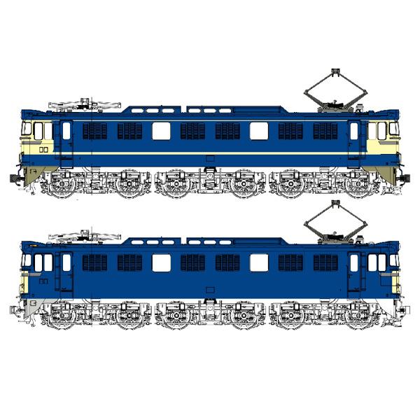 国鉄EF60 1灯形 500番台(特急色/一般色)