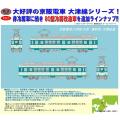 京阪電車大津線80型(連接車・冷房改造)