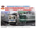 東武鉄道8000系(8568編成試験塗装リバイバル2両/宇都宮線81118編成4両)