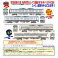 関東鉄道キハ2100形 1次車 新塗装/3次車