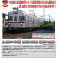 鉄コレ 長野電鉄3600系 冷房車(L2編成) 3両セットA