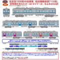 北総開発鉄道7150形(基本/増結/カラードアAB)4両セット各種