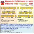鉄コレ 三岐鉄道801系 801編成/ 805編成(西武カラー) 3両セット