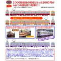 筑豊電気鉄道2000形2003号(開業当時塗装&初代2000形塗装)/2001号(紫)