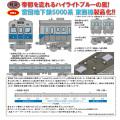 営団地下鉄5000系(東西線・非冷房車)