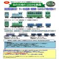 鉄コレ ナローゲージ80 富別簡易軌道 ディーゼル機関車+牽引客車/ミルクゴンドラ車セット