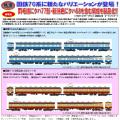 鉄コレ 国鉄70系 両毛線/新潟色 4両セットAB