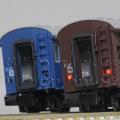 KATO 5128-3/5128-4 オハフ33 戦後形(茶/ブルー)