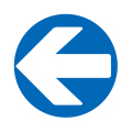 ←(左矢印)