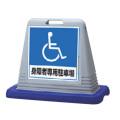 サインキューブ 身障者専用駐車場