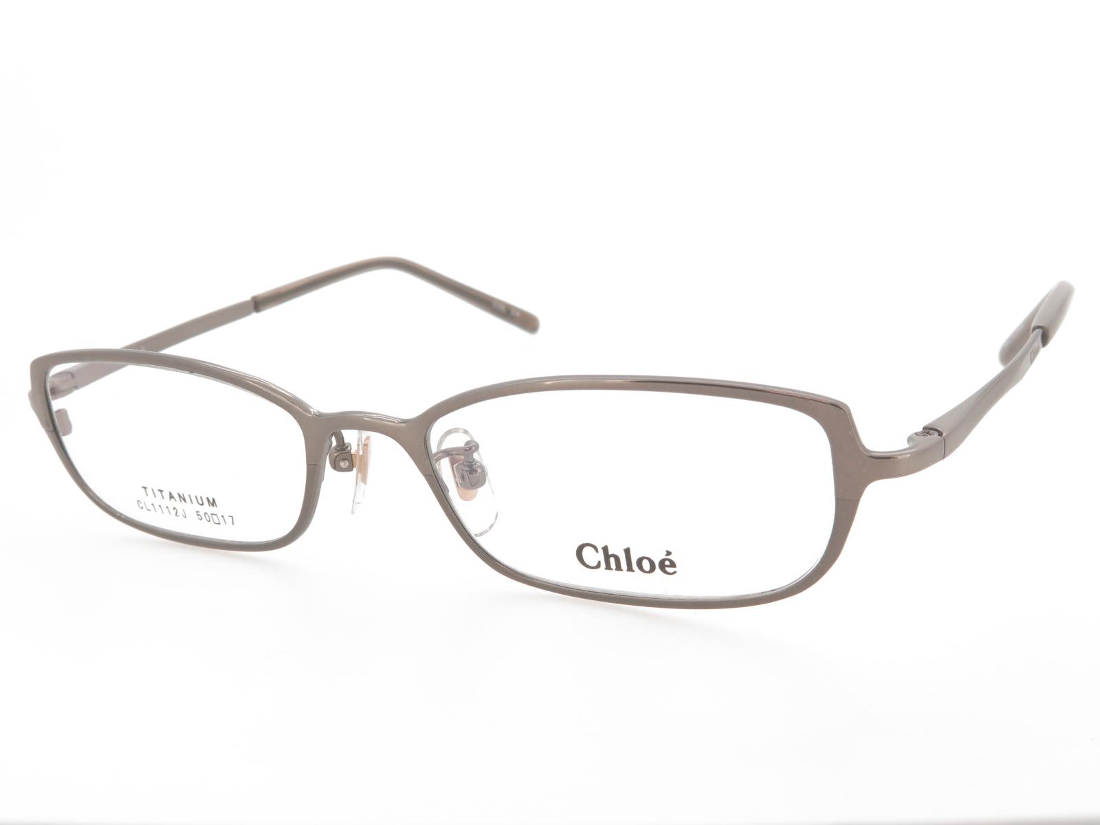 レディース メガネフレーム Chloe クロエ フルリム メタル CL1112J Col.2
