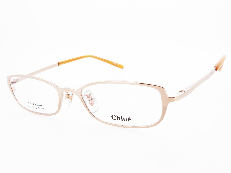 レディース メガネフレーム Chloe クロエ フルリム メタル CL1112J Col.3