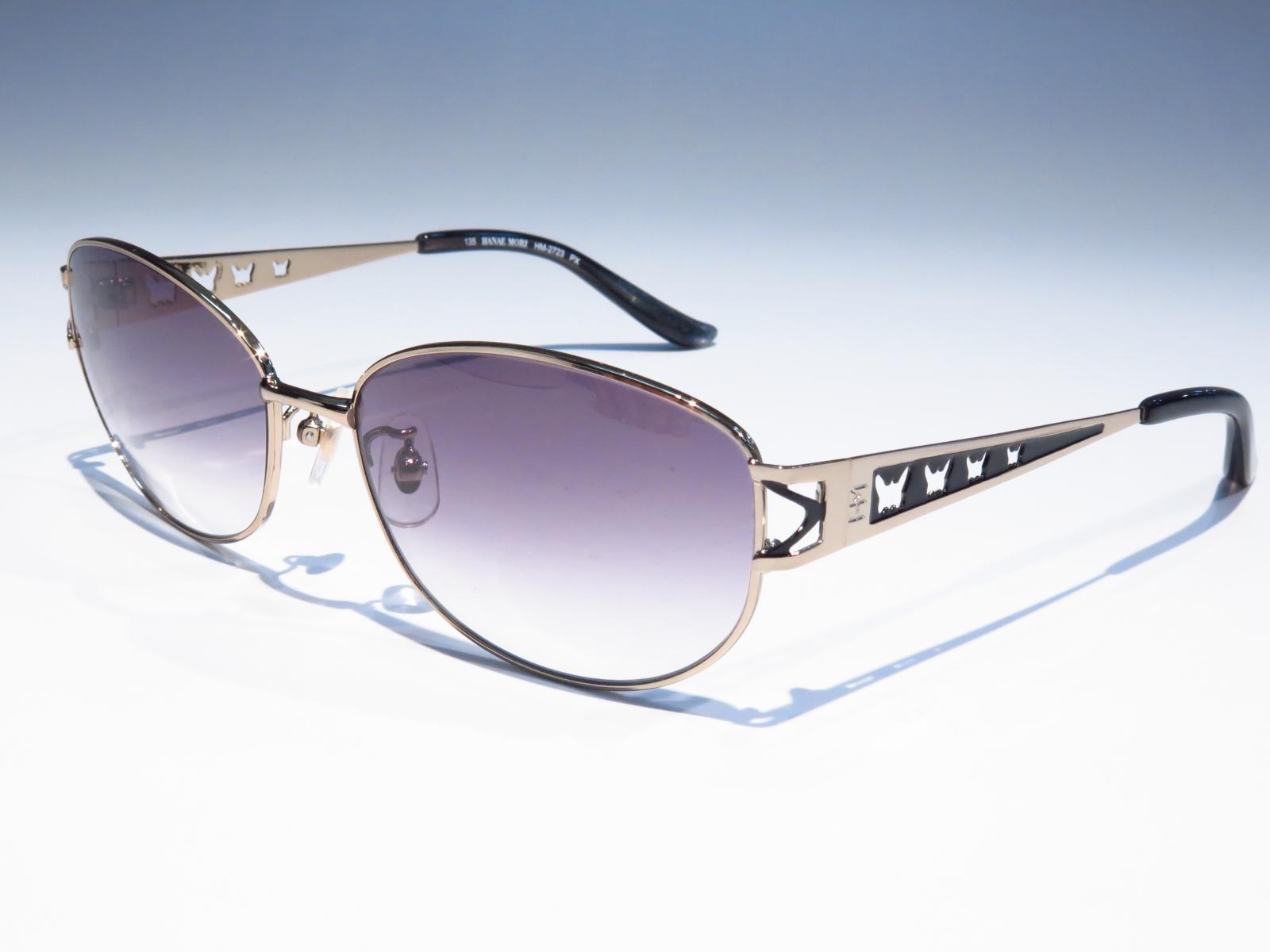 HANAE MORI ハナエモリ レディース ブランド サングラス UVカット 紫外線対策 HM2723 PX