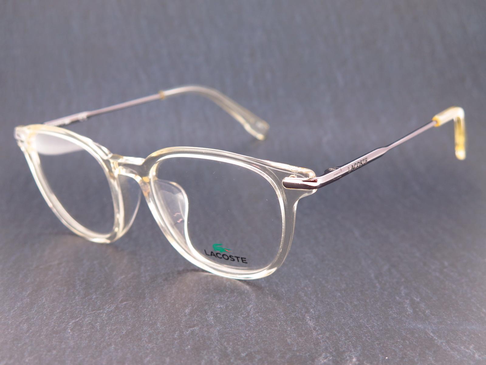 LACOSTE ラコステ ブランド メガネ アジアンフィット スクエア型 セルフレーム L2835A 264 50サイズ