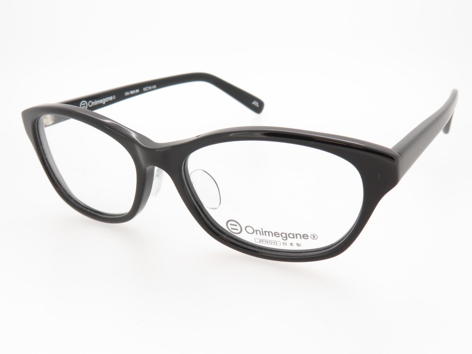 Onimegane おにめがね メガネフレーム アセテート OG7805 BK ブラック