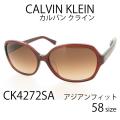 レディース サングラス Calvin Klein カルバンクライン UVカット アジアンフィット CK4272SA