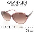 レディース サングラス Calvin Klein カルバンクライン UVカット アジアンフィット CK4331SA