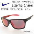 NIKE ナイキ スポーツサングラス ESSENTIAL CHASER ミラーレンズ EV0998