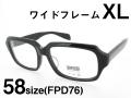 FU×PAS フーパス スクエア型 大きいサイズ セルフレーム F565 Col.44 58サイズ