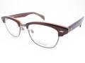 NOVA ノバ クラシック ブロースクエア チタン メガネフレーム H5005 50サイズ C9 ブラウン