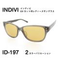 レディース サングラス 紫外線カットレンズ INDIVI インディビ ID197