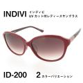 レディース サングラス 紫外線カットレンズ INDIVI インディビ ID200