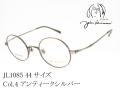 John Lennon ジョンレノン メガネ 日本製 ラウンド型 メタル JL1085 Col.4